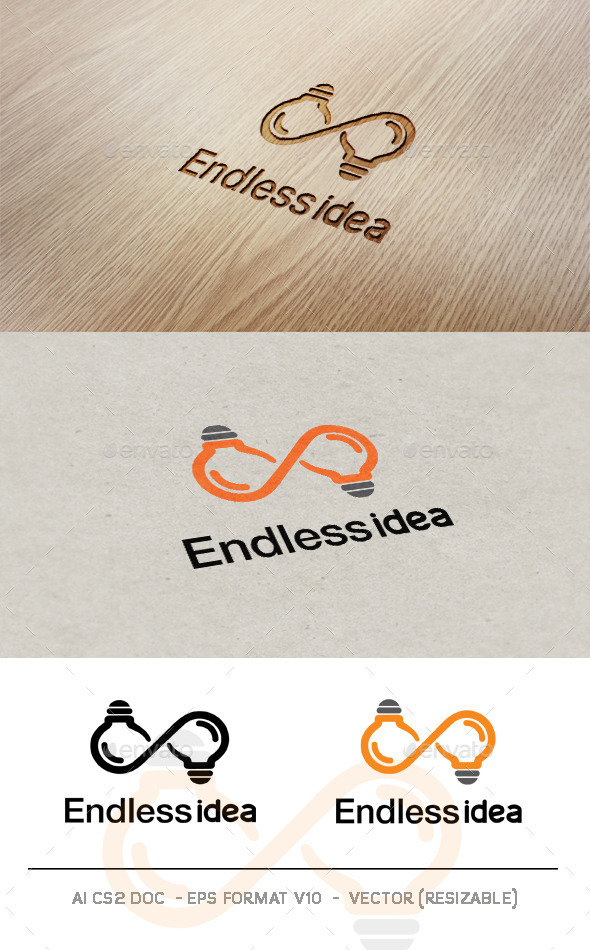GraphicRiver Endless Idea logo 9607053