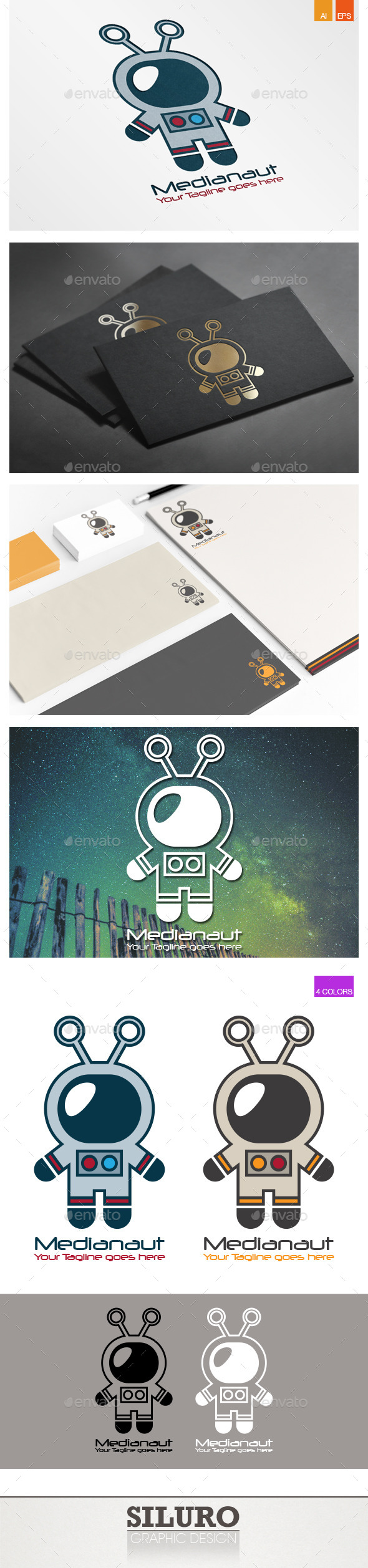 GraphicRiver Medianaut Logo 9607258