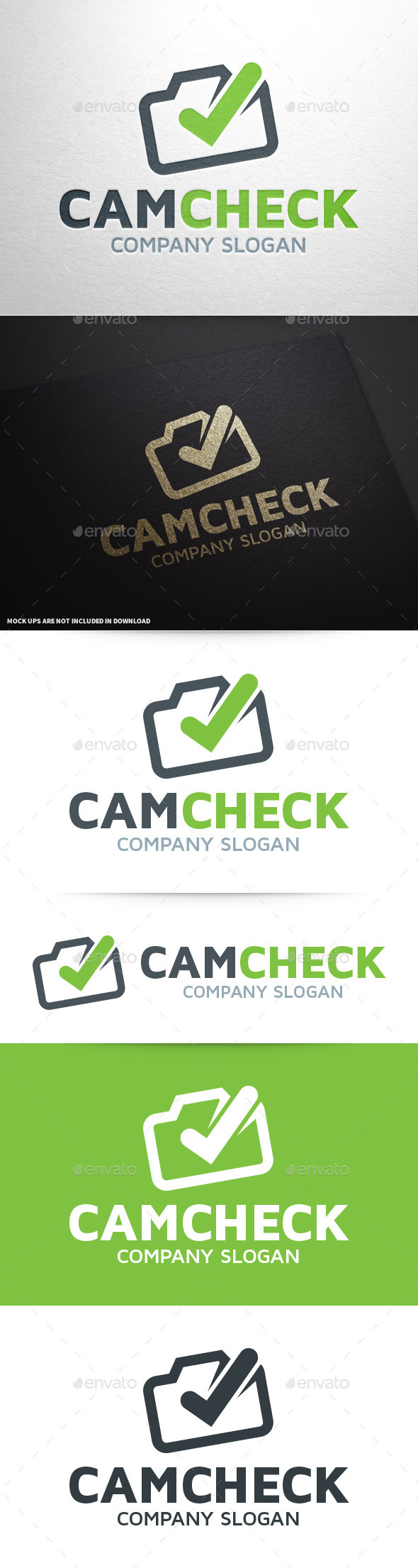 GraphicRiver Camera Check Logo Template 9607494