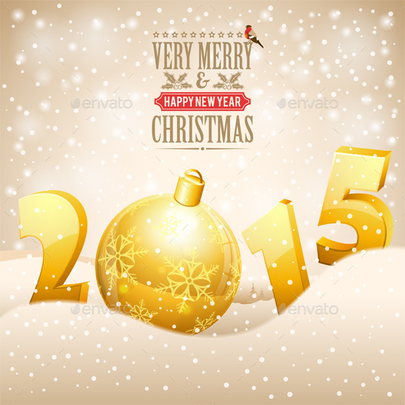 GraphicRiver Christmas Background 9607742
