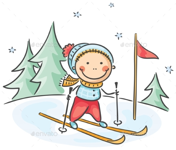 GraphicRiver Winter Activities 9607767