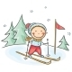 Winter Activities  - GraphicRiver Item for Sale