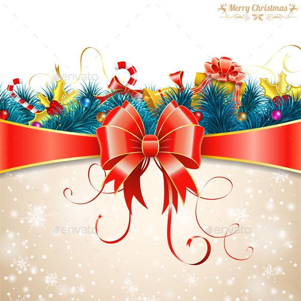 GraphicRiver Christmas Card 9607811