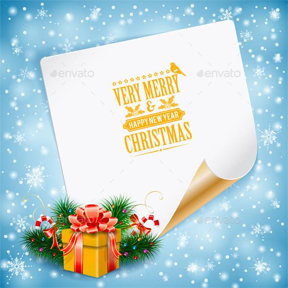 GraphicRiver Christmas Greeting Card 9607882