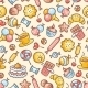 Sweets Pattern - GraphicRiver Item for Sale
