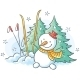 Winter Drawing - GraphicRiver Item for Sale