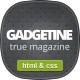 Gadgetine - Responsive News and Magazine HTML - ThemeForest Item for Sale