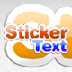 Sticker Text Styles - GraphicRiver Item for Sale
