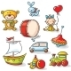 Toys Set - GraphicRiver Item for Sale
