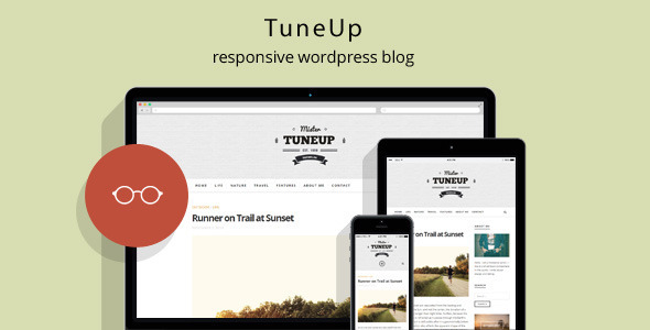 ThemeForest TuneUp Responsive WordPress Theme 9608778