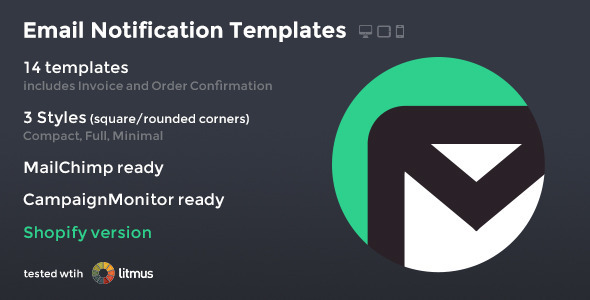 ThemeForest SimpleApp Email Notification Templates 9608791