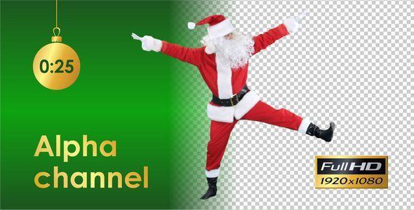 Santa Claus Dancing 4