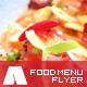 Modern Restaurant Food Menu Flyer Template - GraphicRiver Item for Sale