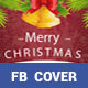Merry Christmas Fb Cover - GraphicRiver Item for Sale