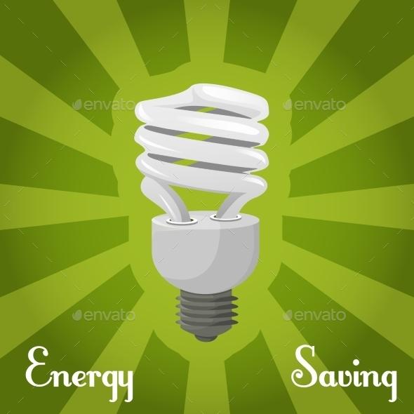GraphicRiver Concept Energy Saving Llamp 9609215
