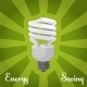 Concept Energy Saving Llamp - GraphicRiver Item for Sale