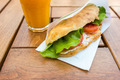 Salad Sandwich With Tomato Slices - PhotoDune Item for Sale