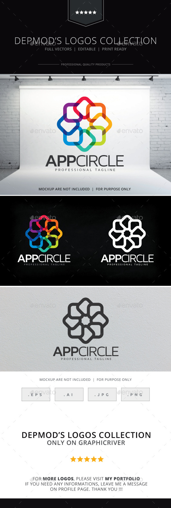 GraphicRiver App Circle Logo 9609565
