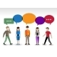 Chat People Concept - GraphicRiver Item for Sale