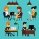 People Sitting in Office - GraphicRiver Item for Sale