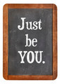 just be you advice - PhotoDune Item for Sale