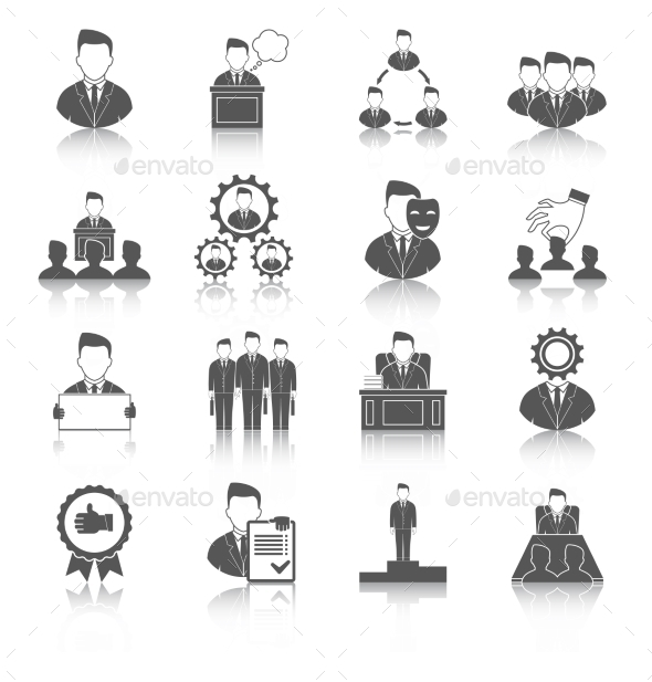 GraphicRiver Executive Icons 9609993