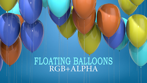 Floating Balloons Pack