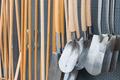 Garden shop with wooden spades - PhotoDune Item for Sale