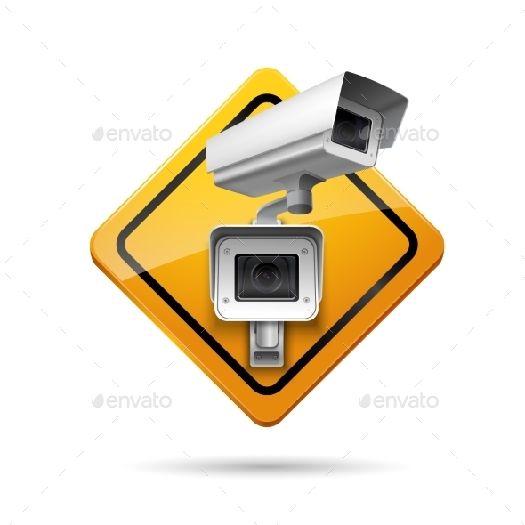 GraphicRiver Video Surveillance Sign 9610120