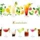 Cocktail Seamless Border - GraphicRiver Item for Sale