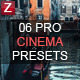 50 Pro Cinematic Effect Presets