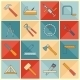 Carpentry Tools Icons - GraphicRiver Item for Sale