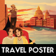 VENICE - Illustrated Travel Flyer & Poster - GraphicRiver Item for Sale