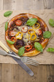 stone oven baked pizza on paper - PhotoDune Item for Sale