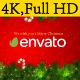 Santa Sleigh Logo - VideoHive Item for Sale