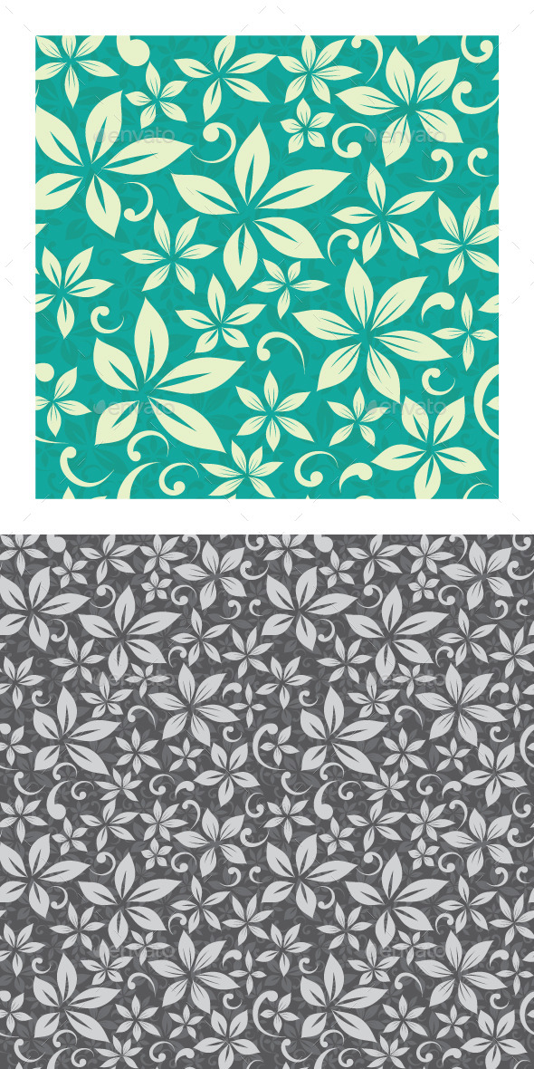 GraphicRiver Flower Pattern 9610866