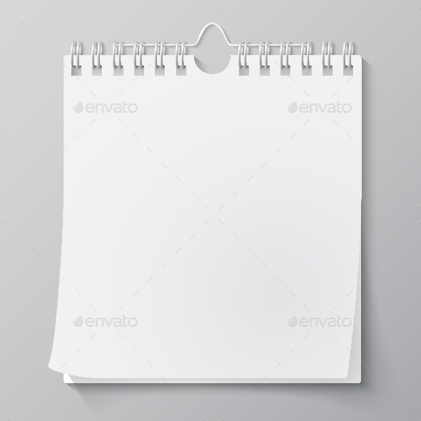 GraphicRiver Blank Wall Calendar 9611174