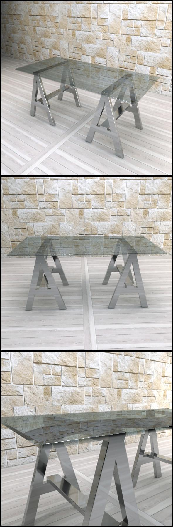 3DOcean Andrew Martin A-Frame Desk 9611386