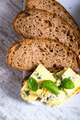 Sandwich with Roquefort cheese and dark bread - PhotoDune Item for Sale