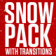 Snow Pack with Transitions - VideoHive Item for Sale