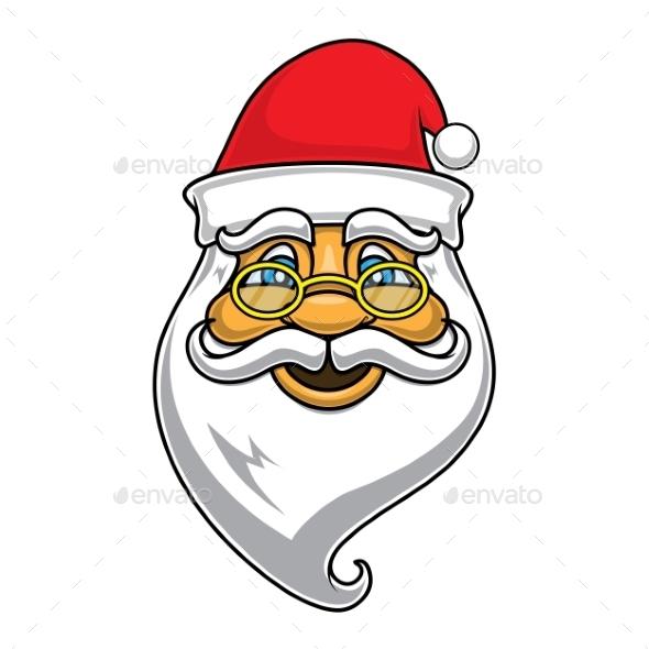 GraphicRiver Santa Claus Face 9612033
