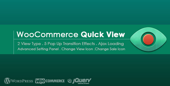 CodeCanyon Advanced Quick View for WooCommerce 9585287