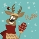 Reindeer Says Hello  - GraphicRiver Item for Sale