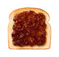 Fig Preserves on Toast isolated - PhotoDune Item for Sale