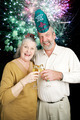 Seniors Party on New Years Eve - Fireworks - PhotoDune Item for Sale