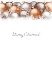 Christmas balls and snowflake on holiday background. - PhotoDune Item for Sale