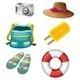 Different Things Ideal for Summer Outings - GraphicRiver Item for Sale