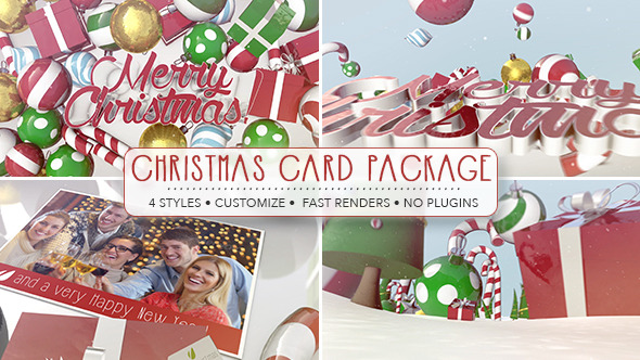 Christmas Card Package