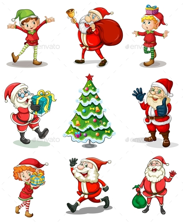 GraphicRiver Different Christmas Templates 9614751