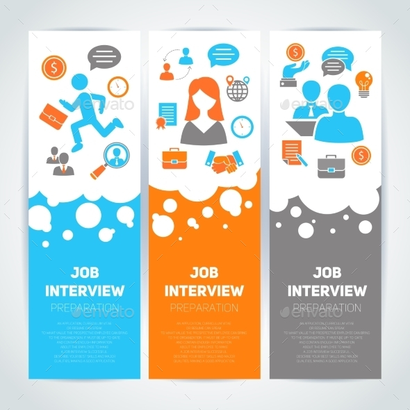 GraphicRiver Job Interview Banners 9614841